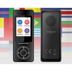 LEXIBOOK - Interpretor - Traducteur vocal basé sur l'intelligence artificielle (45 langues)