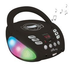 LEXIBOOK - iParty Bluetooth Light Lecteur CD - USB