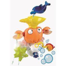 LEXIBOOK - Jouet de Bain Enfant - Crabe de Bain Animé