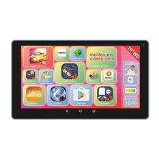 LEXIBOOK - Tablette Tactile Enfant LexiTab - 10 pouces - Contenu Educatif et Ludique - Avec Contrôle Parental