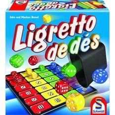 Ligretto de Dés - Jeu de société - SCHMIDT AND SPIELE