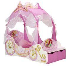 Lit carrosse Disney Princesses