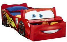 Lit Cars Flach Mc Queen 70x140 cm