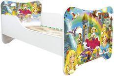 Lit enfant avec matelas Princesses 70x140 cm