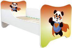Lit enfant avec matelas Super panda 70x140 cm