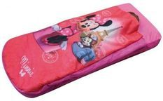 Lit gonflable Minnie Paris Disney