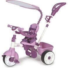 Little Tikes - tricycle 4 en 1 rose évolutif - de 9 mois a 3 ans