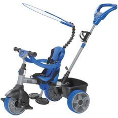 LITTLE TIKES - tricycle 4in1 bleu - 634314E4 - tricycle évolutif