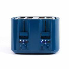 LIVOO DOD167B Grille-pain - 4 fentes - Bleu