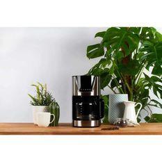 LIVOO DOD172 Cafetiere électrique programmable - Noir