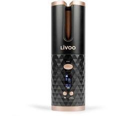 LIVOO DOS179 - Fer a boucler automatique sans fil - Ecran LCD - Réglage de la température de 150°C a 200°C - Minuteur de chauffe