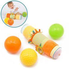 LUDI Coffret de 3 Balles Sensoriel - Diametre 13 cm