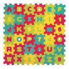 LUDI – Tapis de sol Lettres et chiffres - des 10 mois - Puzzle géant