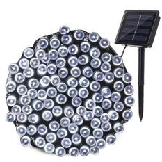 LUMI JARDIN Guirlande lumineuse solaire Yogy Solar - Lumiere blanc froid solaire - 400 LED - 3300 cm