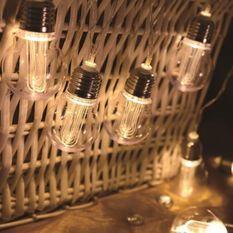 LUMIJARDIN Guirlande solaire Dixy avec 10 ampoules a filament LED