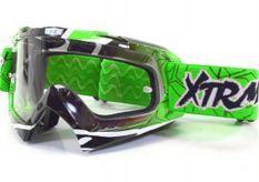 Lunette Moto cross Racing Vert
