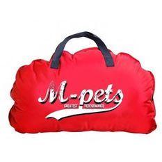 M-PETS - Coussin Bilbao - Rouge - L - Pour chien