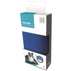M-PETS Tapis rafraîchissant Frozen M - 65x50cm - Bleu - Pour chien