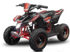 Madox premium 800W noir et rouge 4