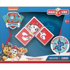 Magicube - Pat' Patrouille Personnages (3 Cubes) - Marcus - Ruben - Zuma
