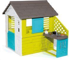 Maison de Jardin Pretty avec cuisine - 2 fenêtres - 17 accessoires