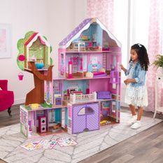 Maison de poupées avec cabane dans les arbres Kidkraft 10108