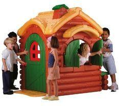 Maison enfant Woodland Cottage avec son