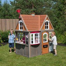 Maisonnette enfant en bois Greystone Cottage