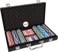 Malette 300 jetons de Poker en cuir
