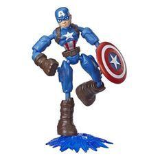 Marvel Avengers – Figurine Captain America Bend & Flex – 15 cm