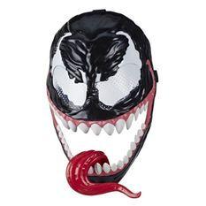 Marvel Spider-Man Maximum Venom – Masque de Venom - Accessoire de déguisement