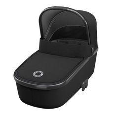 MAXI-COSI Oria Nacelle pliable - Légere - De la naissance a 6 mois - Essential Black