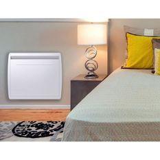 MAZDA 1000 watts Radiateur électrique a inertie - Chaleur Douce - Double technologie : Inertie céramique + Film - Programmation LCD