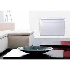 MAZDA 1500 watts Radiateur électrique a inertie - Chaleur Douce - Double technologie : Inertie céramique + Film - Programmation LCD
