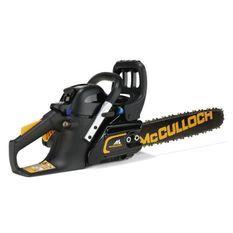 MCCULLOCH Tronçonneuse thermique - 35 cc - 1,4 kW - Vitesse de chaîne élevée : 22,8 m/s