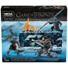 MEGA CONSTRUX Game of Thrones - La Bataille de Winterfell - Briques de construction - 16 ans et +