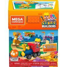 MEGA CONSTRUX Méga Storybox - 140 blocs - 4 ans et +
