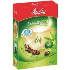 MELITTA 80 filtres a café Bambou 1x4
