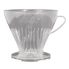 MELITTA Porte-filtre a café 1x6 - Transparent