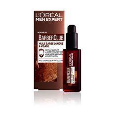 MEN EXPERT Huile barbe longue Barberclub - 30 ml - Marron
