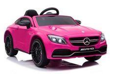 Mercedes C63 Luxe rose Voiture électrique enfant