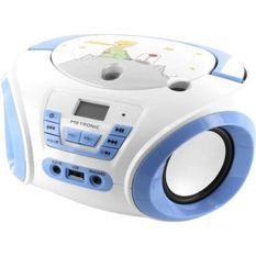 METRONIC Le Petit Prince Radio Lecteur CD avec port USB et entrée audio - Bleu
