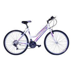 MGR Vélo VTT Groove - Femme - Blanc et rose - Personnes de 160 cm