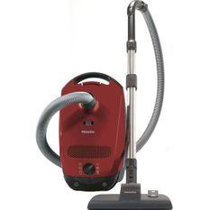 MIELE Classic C1 EcoLine rouge Aspirateur traineau avec sac