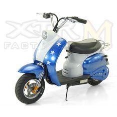 Mini Scooter électrique 350W Bleu