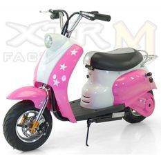 Mini Scooter électrique 350W rose