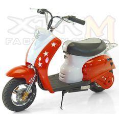 Mini Scooter électrique 350W Rouge