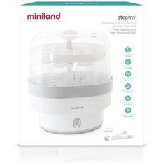 MINILAND - Stérilisateur grande capacité et facile a utiliser, Steamy