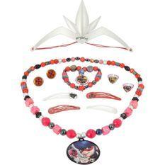 MIRACULOUS Coffret Bijoux 12 Pieces Pour Enfant