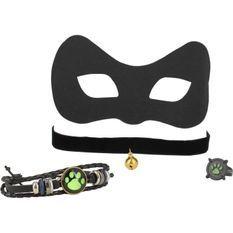 MIRACULOUS - Coffret masque et bijoux Chat noir